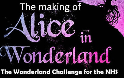 159 pro VO's & Celebs created an amazing audiobook of Alice in Wonderland for NHS in first lockdown.