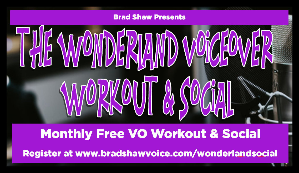 Wonderland Voiceover Workout & Social