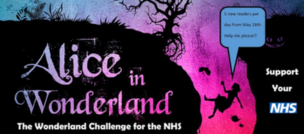 Wonderland Challenge for the NHS