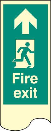 Door Plate - fire exit