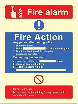 Fire Action - Call Point