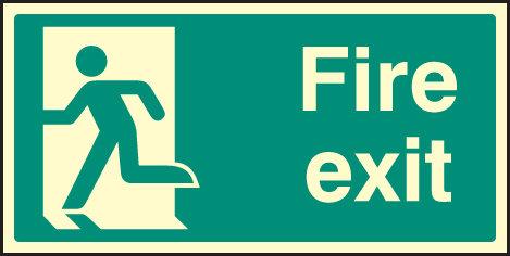 Final fire exit
