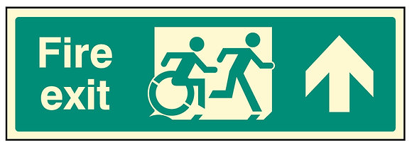 Disabled (inclusive) fire exit