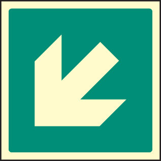 Arrow - 45 degrees