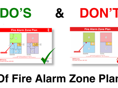 5 Common Mistakes Made with Fire Alarm Zone Plans