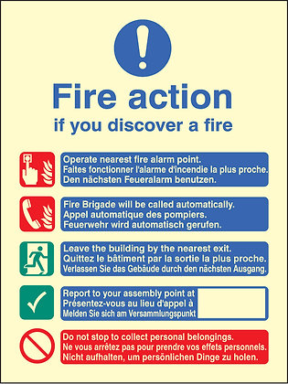 Multi-Lingual Fire Action