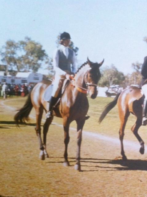 Me in Alice Springs in the 1980's