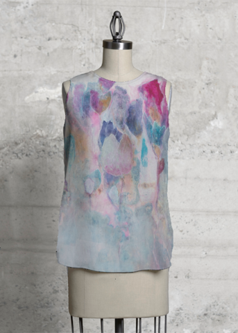 Olivia's LIV label with Bloom top