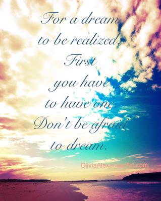 Afraid of the Dream