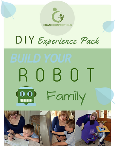 Build Your Robot Family DIY Experience Pack