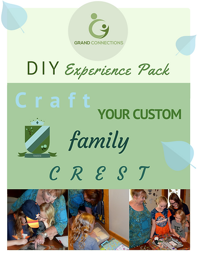 Craft Your Custom Family Crest DIY Experience Pack