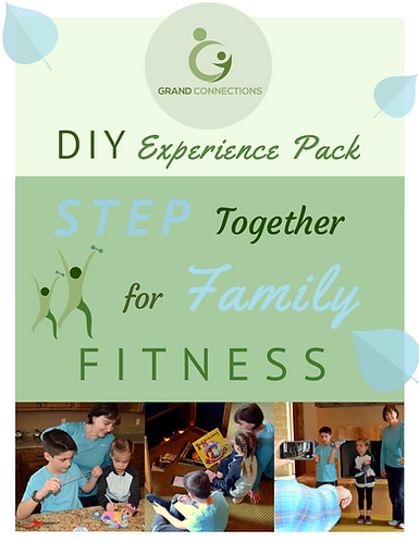 Step Together for Family Fitness DIY Experience Pack