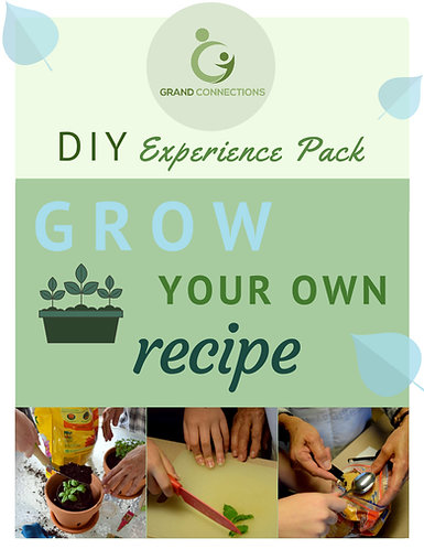 Grow Your Own Recipe DIY Experience Pack