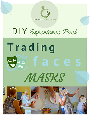 Trading Faces Masks DIY Experience Pack