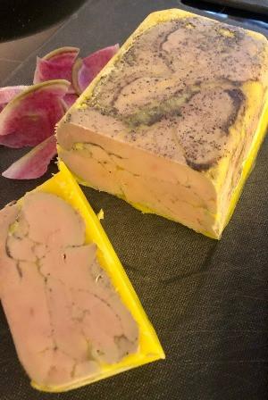 Mi-cuit de foie gras de canard IGP Sud-Ouest