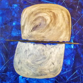 Slate Blue Burnishings