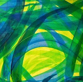 Untitled (Blue and Green)