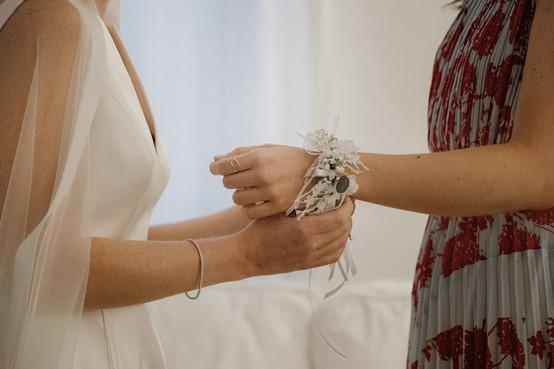bracciale testimone di matrimonio