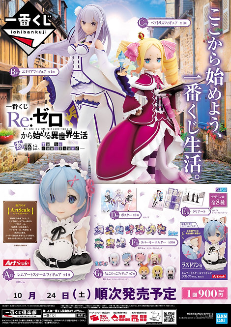 Ichiban Kuji Re:Zero -Story is to be Continued-