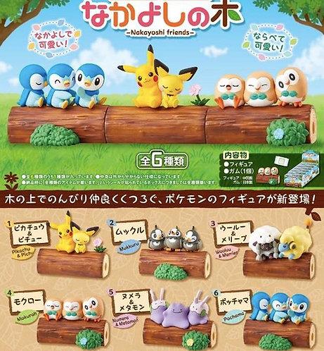 Re-ment Pokemon Nakayoshi Friends Set