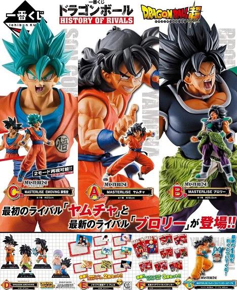 Ichiban Kuji Dragon Ball History of Rivals