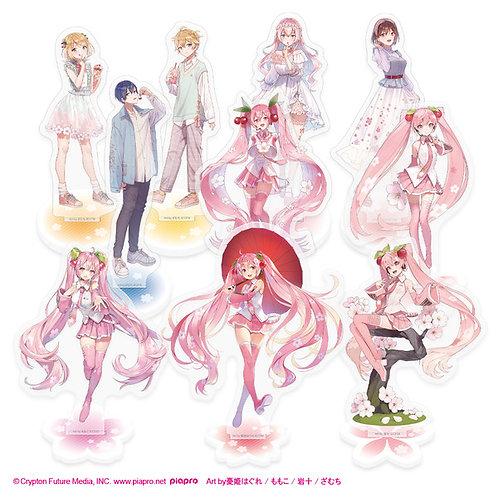 Sakura Miku Acrylic Stands