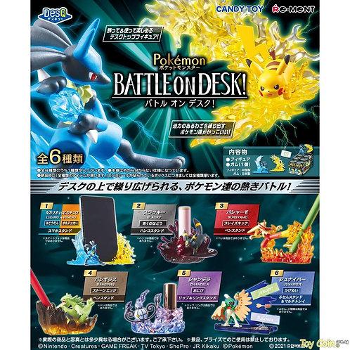 Re-Ment Pokémon DesQ BATTLE ON DESK!