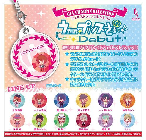 Gel Strap Collection Uta no Prince-sama Debut