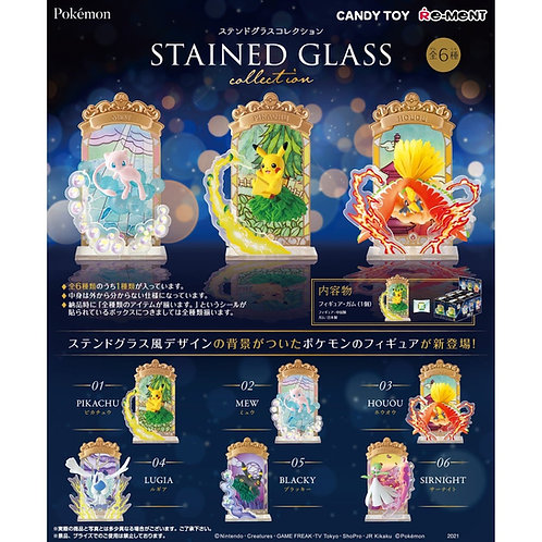 Re-ment Pokemon Stained Glass Set