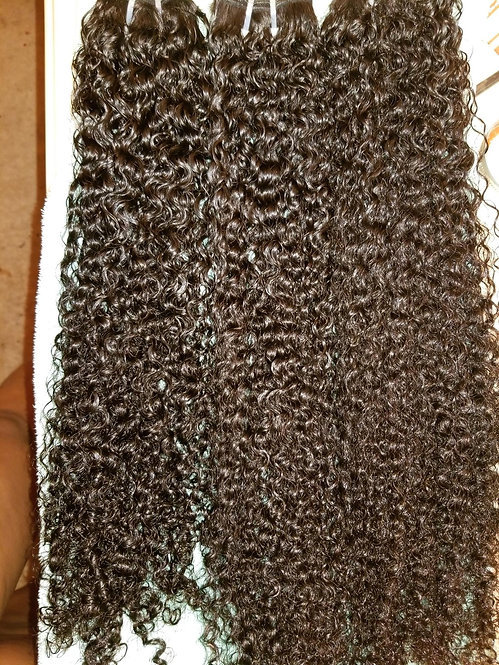 M.O. Steamed Curly Single Bundle