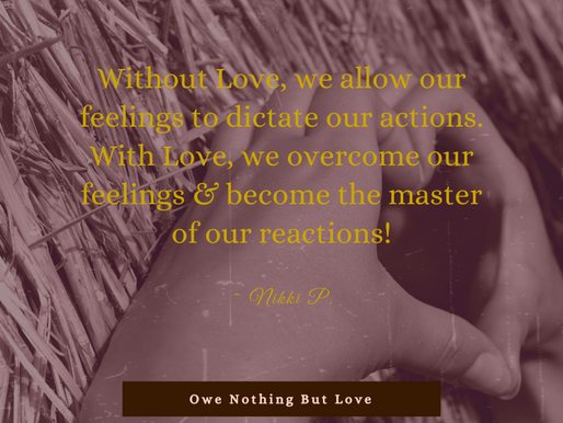 A Lesson On Love (& Peace)