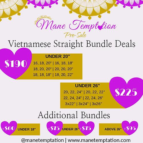 Vietnamese Straight Pre-Sale Deal