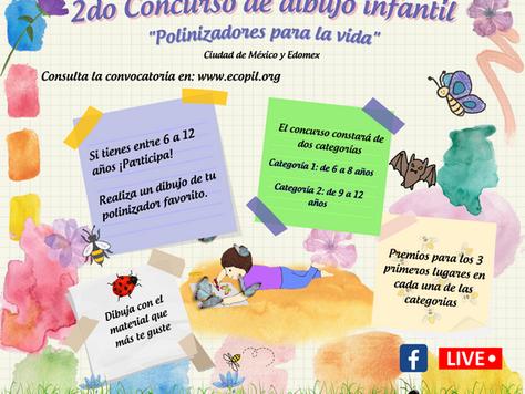 """2do Concurso de dibujo infantil """"Polinizadores para la vida"""""""