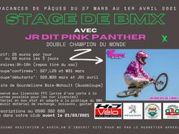 Stage de BMX avec JR dit Pink Panther en Guadeloupe