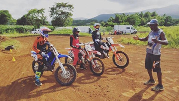 Pole espoir motocross Guadeloupe