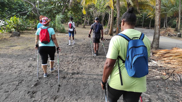Club Actif Pour la Vie, marche Nordique BMX Guadeloupe 2021