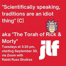The Torah of Rick & Morty
