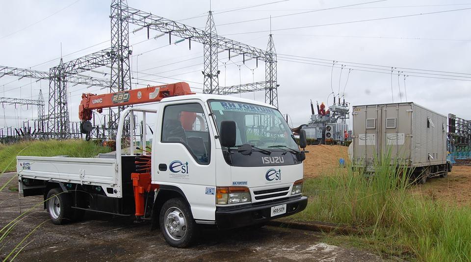 ESI Boom Truck