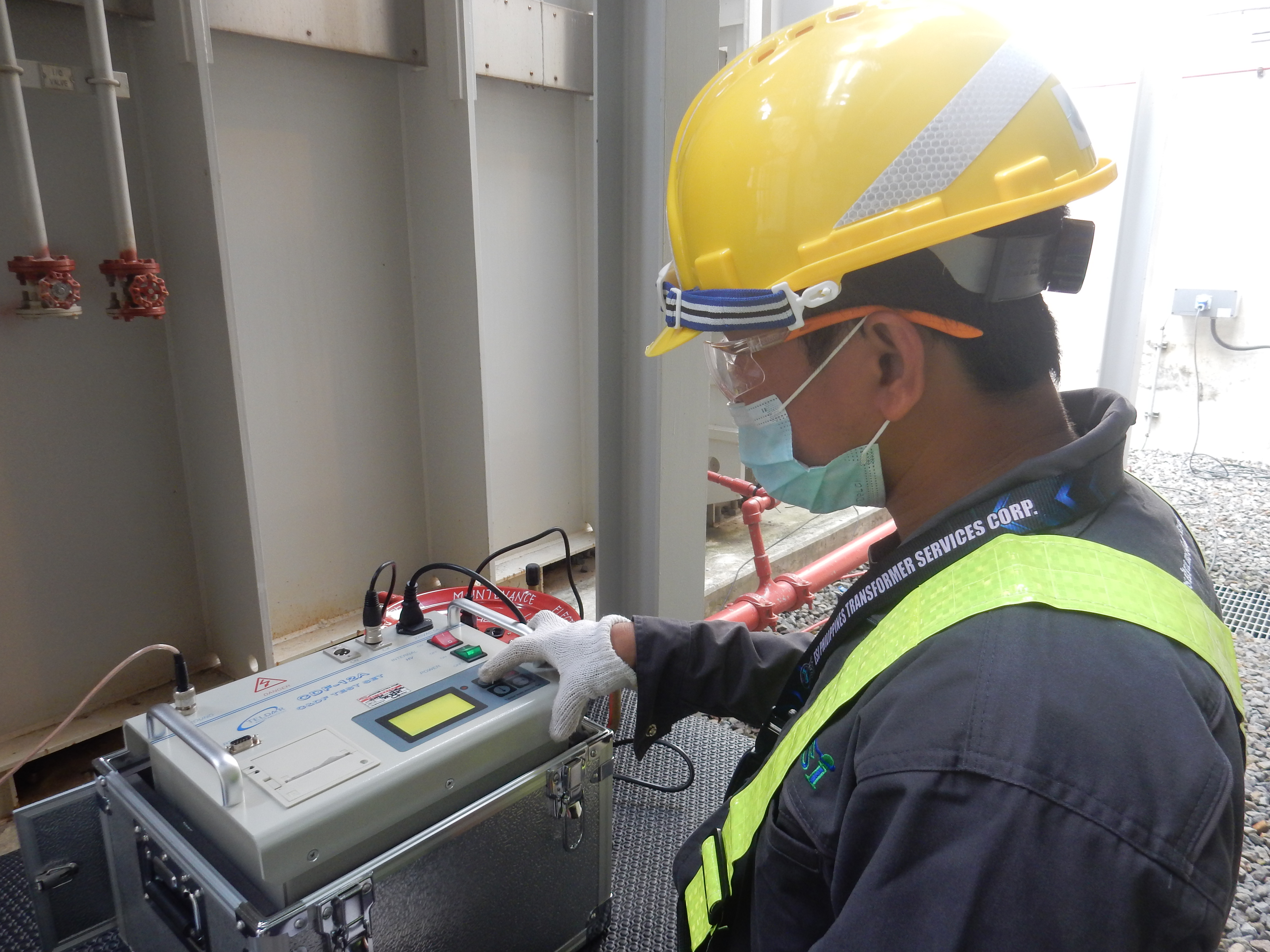 CDF - 12A Testing