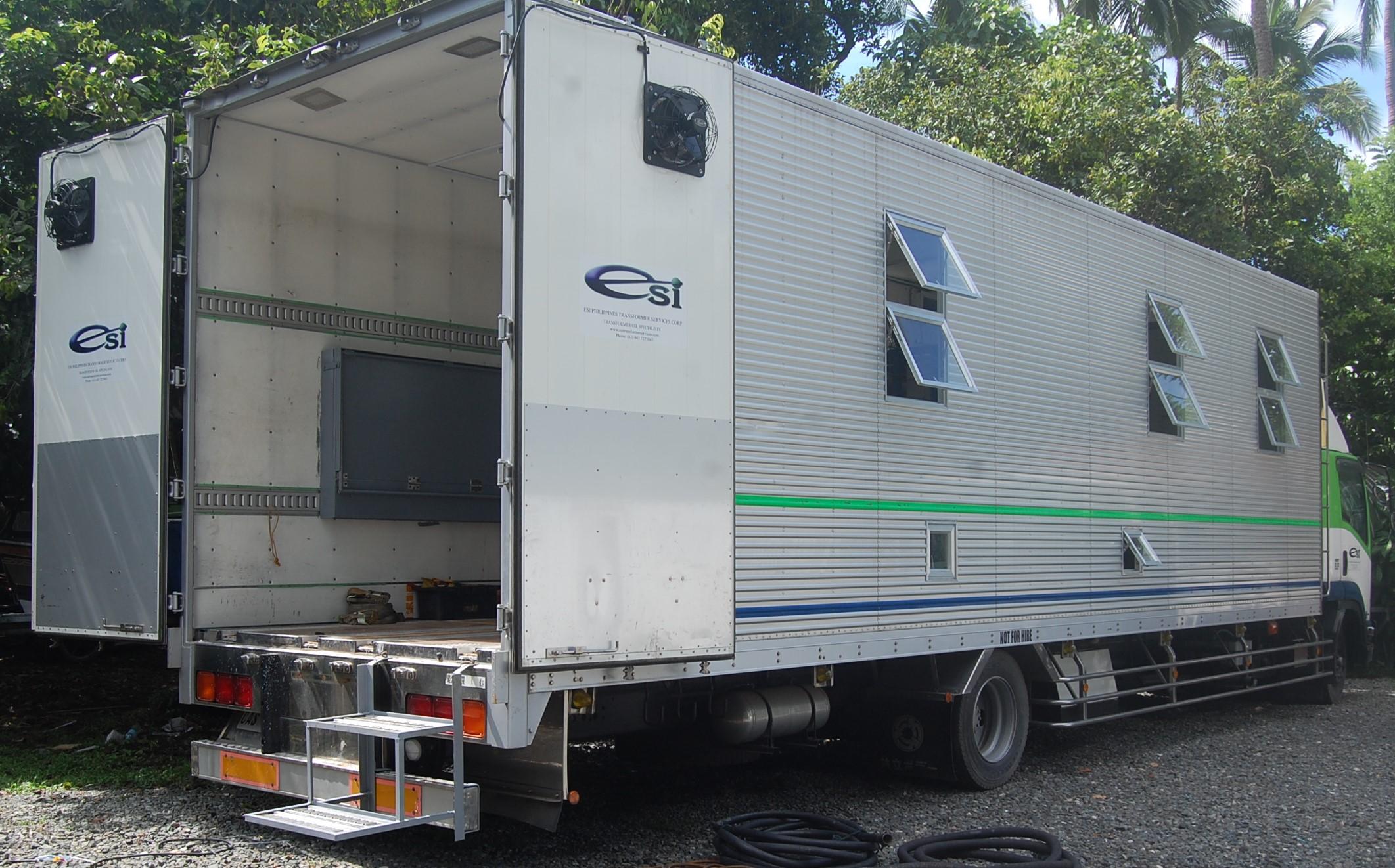 Purifier Truck