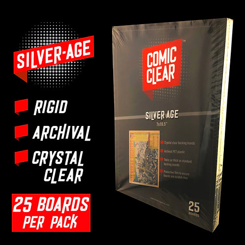 Silver-Age Backing Boards (x25)