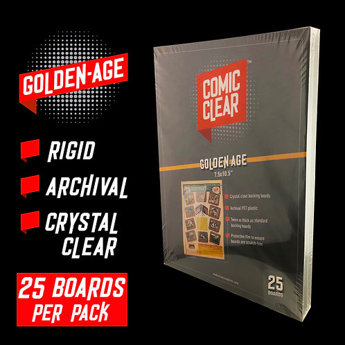 Golden-Age Backing Boards (x25)