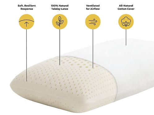 Talalay Latex High Loft Plush Pillow