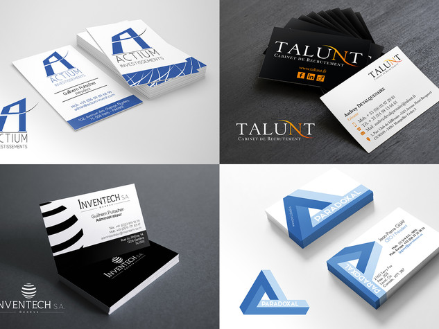 Logos, cartes de visites