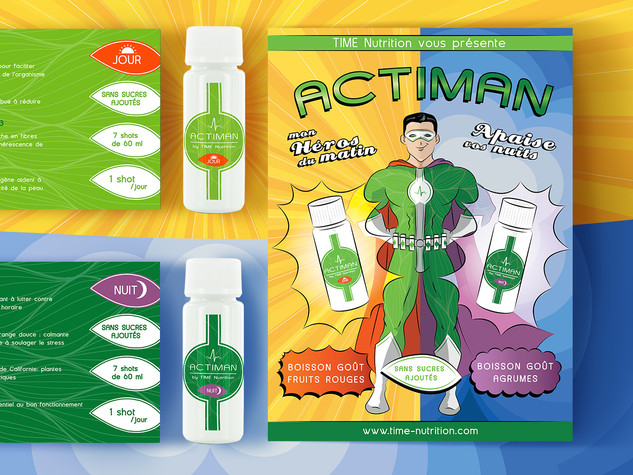 ACTIMAN by TIME Nutrition