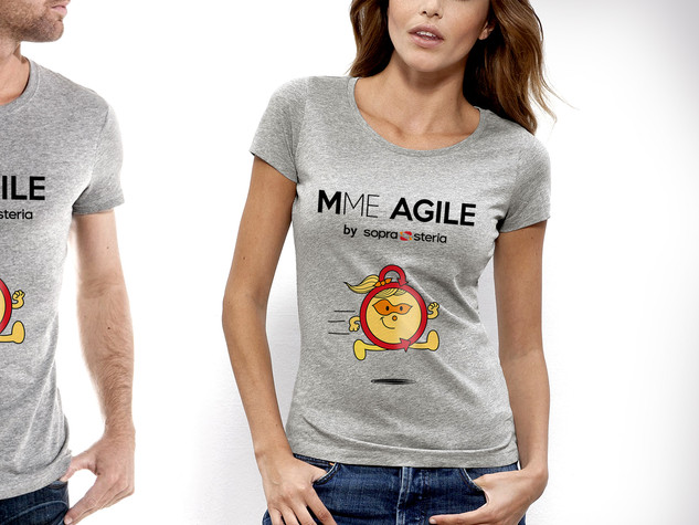T-shirts M. et Mme AGILE