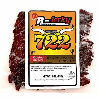 R-Jerky Black Pepper Beef Brisket (3oz bag)
