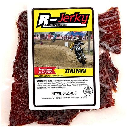 R-Jerky Teriyaki Beef Jerky (3oz bag)