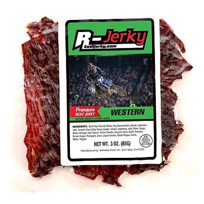 R-Jerky Western Beef Jerky  (3oz bag)