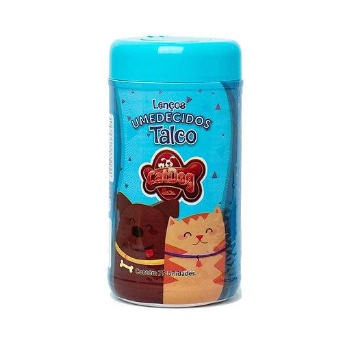 Lenços Umedecidos CatDog & Cia Talco para Cães e Gatos